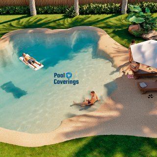Pool Covering construcción piscinas de arena en España