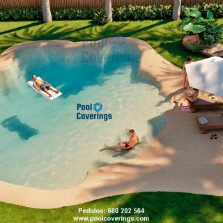 Piscinas Pool Coverings sus sueños se materializan.