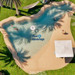 piscinas de arena son adaptables a cualquier espacio